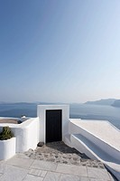 gate of house, Oia, Santorini, Cyclades Islands, Cyclades Prefecture, Greece, Europe