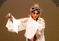 """The Legend of White Snake"", China Dalian Peking Opera Troupe, Salle Pleyel, Paris, France."