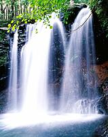 Waterfall, Nasu highland, Kuroiso, Tochigi Prefecture, Japan