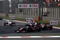 Jaime Alguesuari (ESP), Nick Heidfeld (GER), Chinese Grand Prix, Shangai, China