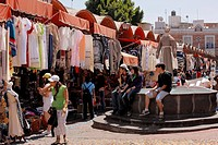 Market of el Parian, Shop, Market, Puebla, Mexico, Latin America, Central South America