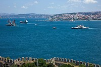 Istanbul, Turkey, Middle East, Bosphorus strait, strait, ship