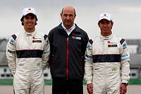 Sergio Pérez MEX, Peter Sauber SUI, Kamui Kobayashi JAP, Lauch New Sauber, Valencia, Spain, 2012