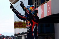 Sebastian Vettel GER, Turkish Grand Prix, Istanbul, Turkey