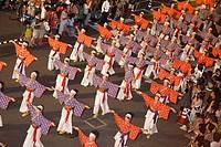 Yosakoi Festival, Outesuji kyoenjo, Kochi, Kochi, Shikoku, Japan
