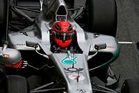 Racing, Michael Schumacher, Testing, Barcelona, Espanha