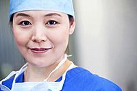 Portrait of female surgeon