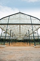 Glass house in a botanical garden, Lal Bagh Botanical Garden, Bangalore, Karnataka, India