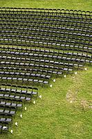 Array, Layout, Grass, Chairs, Arrangement