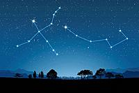 Image of Astrology signs, Cygnus, Ursa Minor