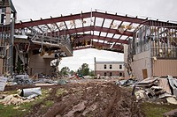 A church destroyed by a tornado in Joplin, Missouri, May 25, 2011  On May 22, 2011, Joplin Missouri was devastated by an EF-5 tornado