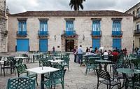 Cuba, Havana  Museo de Arte Colonial, Museum of Colonial Art, Plaza de la Cathedral  1720