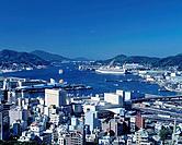 Nagasaki port, Japan
