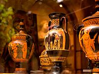 Decorative Vases in Athens Greece