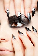 girl´s eye_zone bodyart