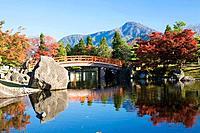 Murasakishikibu garden, Fukui Prefecture, Honshu, Japan