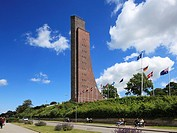 D-Laboe, Baltic sea spa, Kieler Foerde, Baltic Sea, Probstei, Schleswig-Holstein, Laboe Naval Memorial, war memorial, military navy, shipping museum