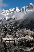 Mount Siguniang is an area of outstanding natural beauty in Sichuan