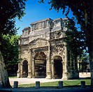 Roman Arch of triumph, Orange, Provence, France