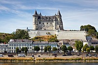 Saumur chateau, Maine et Loire, France, Europe
