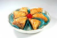 baklava in dish