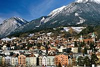 Innsbruck is the captial of Austria. It is located in the Inn Valley,and is well known as a winter sports destination.