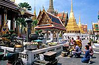 The Wat Phra Kaew,the Temple of the Emerald Buddha is regarded as the most sacred Buddhist temple in Thailand. It is located in the historic center of...