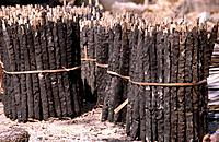Dried anima manure are used as fuel for the fire in many different countries.