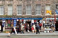 Edinburgh city is a tourist destination for international visitors. The tourists are offered a wide range of regional and local craft fabrics,and part...