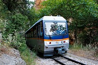 The cog railway was a daring idea of Greek Prime Minister Charilaos Trikoupis, ultimately designed by French specialists in 1889  The construction las...