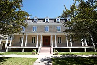 the archbishops house saint boniface french quarter winnipeg manitoba canada