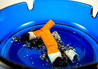 close up ashtray