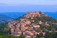 Cordes Sur Ciel, Cordes-sur-Ciel at Dawn, Tarn Department, Midi-Pyrenees, France, Europe.