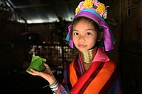 Longneck tribe in Padaung, Myanmar