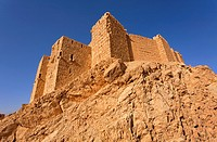 Qalaat Ibn Maan, the Arab Castle, at Palmyra, Syria