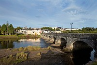 bridge over the river laune in the ring of kerry, killorglin county kerry ireland