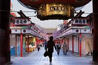 Senso-ji Temple,Nakamise Dori street, Asakusa district, Tokyo,Tokyo, Japan, Asia