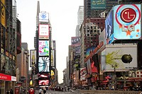 Times Square, Broad Way, Manhattan, New York, New York City, NY, United States America, USA, North America