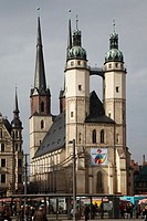 Marienkirche (St. Mary's Church), Halle, Germany