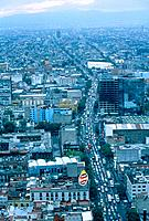 Cityscape of Mexico City, Mexico