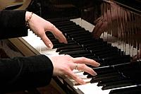 Hands of the pianist
