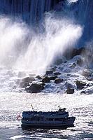 Niagara Falls, American Falls, Ontario, Canada, North America, America