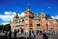 De Stadsschouwburg at the Leidseplein square, a theatre in the architectural style of Neo_Renaissance, Amsterdam, the Netherlands, Europe