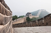 Chinese wall at Simatai, Miyun district, People´s Republic of China