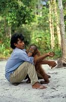 Auswilderungsstation, Gunung Leuser National Park, Sumatra, Indonesia, Asia