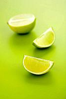 Lime halves