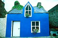 Little blue house in Beara, Ireland