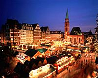 Christmas market in Frankfurt/Maint, Germany