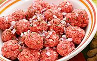 fresh meatballs