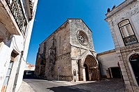 S&#227;o Jo&#227;o de Alpor&#227;o Church built by the Hospitaller Knights  12th/ 13th century Romanesque and Gothic  City of Santar&#233;m, Portugal